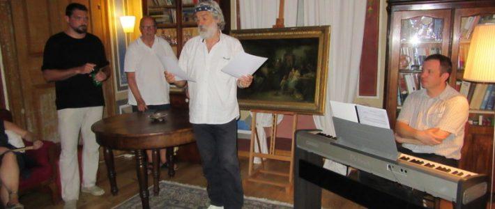 Poetski recital Hvaranina Milana Lakoša u Bolu na Braču