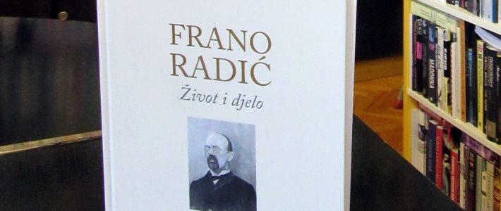 Predstavljanje knjige: Frano Radić, život i djelo