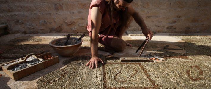 Terra Croatica – Bročko blogo: Ranokršćanski mozaici u bazilici Sanctus Petrus