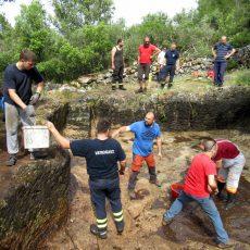 Rimsko kupalište na Trišćeniku – čišćenje