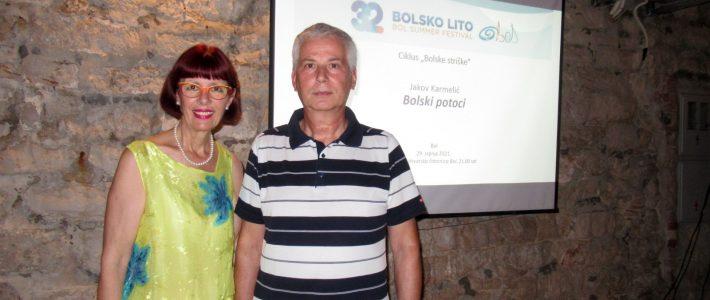 dr. sc. Jakov Karmelić: Bolski potoci